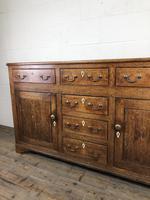 Antique George III Oak Dresser Base (6 of 7)