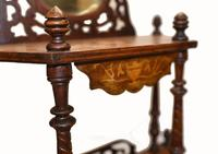 Victorian Whatnot Bookshelf Antique 1860 Furniture (3 of 13)