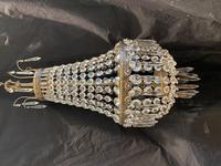 French Antique Empire Chandelier with 3 Internal Lights (2 of 13)