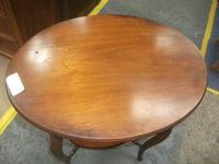 Two Tier Oval Window Table (2 of 3)