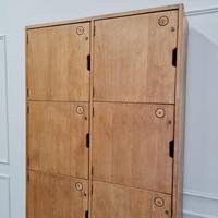 Vintage Wooden School Lockers c.1960 (5 of 5)