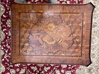 Pair of French Parquetry / Marquetry Side Tables (9 of 20)