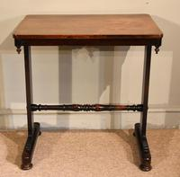 Small Regency Rosewood Occasional Side Table