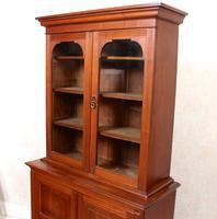 Teak Glazed Library Bookcase (7 of 11)