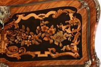 19thc Louis XV Style Marquetry Bureau en Pente (4 of 14)