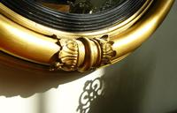Victorian Gilt Convex Mirror (5 of 10)