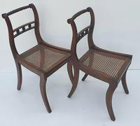 Pair of Early 19th Century Regency Mahogany Chairs (3 of 4)