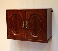 Edwardian Mahogany Wall Cabinet (3 of 7)