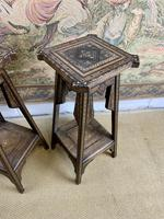Pair of 19th Century Inlaid Stands (3 of 7)
