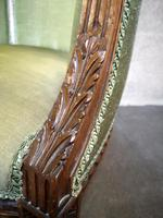 Carved Walnut French Armchair (9 of 11)