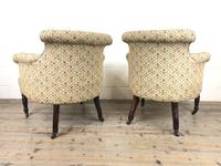 Victorian Three Piece Suite with Gold Floral Upholstery (26 of 26)