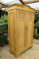 Fantastic! Old Pine 'Knock Down' Cupboard/ Wardrobe With Shelves - We Deliver! (12 of 14)
