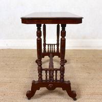 Library Desk Writing Table Mahogany 19th Century (7 of 13)