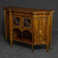 Victorian Rosewood Side Cabinet (14 of 17)
