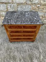 French 19th Century Marble Top Chest of Drawers (5 of 5)