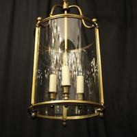 French Bronze Triple Light Antique Lantern (5 of 10)