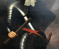 Huge Oil Portrait Painting of 17th Century General John Richmond Webb (13 of 16)
