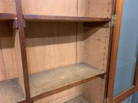 Fine Quality Figured Mahogany Library Bookcase (16 of 17)