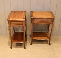 Pair of French Cherrywood Tables (10 of 11)