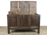 Antique 18th Century Oak Coffer (14 of 16)