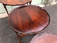 Antique Mahogany Nest 3 Tables (8 of 10)