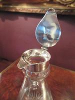 Antique Silver Whisky Noggin Decanter (4 of 6)