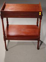 Small William IV Period Two Tier Trolley (4 of 4)