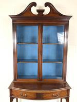 19th Century Glazed Mahogany Bookcase on Stand (6 of 10)