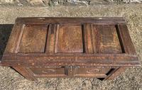 Small 17th Century Devon Oak Coffer (13 of 21)
