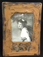 Art Nouveau Celluloid Easel Photo Frame (3 of 5)