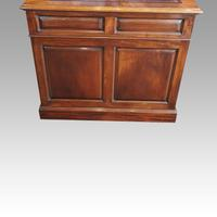 George V Mahogany Pedestal Desk (7 of 13)