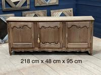French Bleached Oak Enfilade or Sideboard (11 of 11)