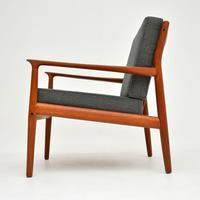 Pair of Danish Teak Vintage Armchairs by Grete Jalk (4 of 11)