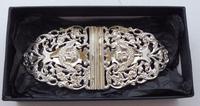 Victorian 1898 Hallmarked Solid Silver Nurses Belt Buckle W Davenport Maternity (7 of 7)
