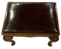 Walnut Queen Anne Style Stool c.1910 (2 of 5)
