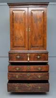 Early 18th Century Walnut Secretaire Writing Cabinet (24 of 31)