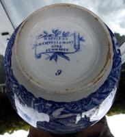 An Extremely Rare Pottery Napoleon Propaganda B&w Commemorative Bowl C.19thc (12 of 12)