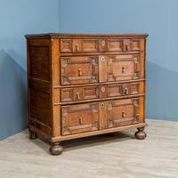 William & Mary Geometric Chest of Drawers