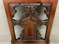 Good Pair of Victorian Walnut Hall Chairs (11 of 13)