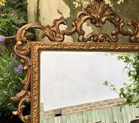 Victorian Gesso Wall Mirror (18 of 19)