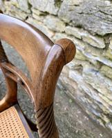Set of 4 Regency Rosewood Sabre Leg Dining Chairs (14 of 15)