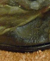 Large Interesting Japanese Meiji Period Bronze (4 of 4)