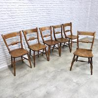 Set of 6 Barback Windsor Kitchen Chairs