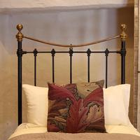 Black Victorian Single Antique Bed (3 of 4)