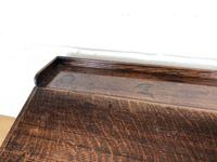 19th Century Antique Oak Table Top Writing Slope (7 of 8)