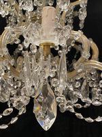 10 Light Italian Marie Theresa Antique Chandelier (9 of 14)