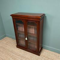 Stunning Quality Victorian Glazed Mahogany Bookcase (5 of 7)