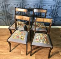 Set of Four Regency Style Dining Chairs by Gill & Reigate (3 of 12)