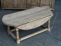 Bleached Oak Drop Flap Coffee Table (3 of 17)