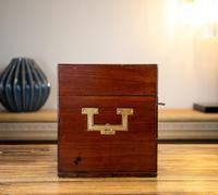 Georgian Mahogany Apothecary Box 1800 (6 of 14)